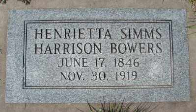 HARRISON, HENRIETTA - Marion County, Oregon | HENRIETTA HARRISON - Oregon Gravestone Photos