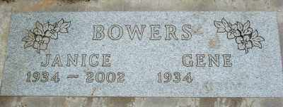 BOWERS, GENE - Marion County, Oregon | GENE BOWERS - Oregon Gravestone Photos