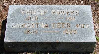 GEER BOWERS, SAMANTHA - Marion County, Oregon | SAMANTHA GEER BOWERS - Oregon Gravestone Photos