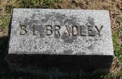 BRADLEY, B L - Marion County, Oregon | B L BRADLEY - Oregon Gravestone Photos