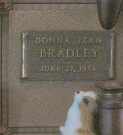 BRADLEY, DONNA JEAN - Marion County, Oregon   DONNA JEAN BRADLEY - Oregon Gravestone Photos