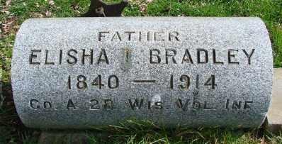 BRADLEY, ELISHA I - Marion County, Oregon | ELISHA I BRADLEY - Oregon Gravestone Photos