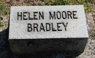 BRADLEY, HELEN - Marion County, Oregon | HELEN BRADLEY - Oregon Gravestone Photos