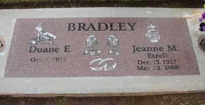 BRADLEY, DUANE E - Marion County, Oregon | DUANE E BRADLEY - Oregon Gravestone Photos