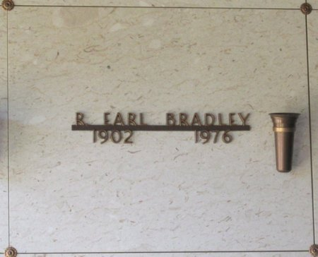 BRADLEY, R EARL - Marion County, Oregon | R EARL BRADLEY - Oregon Gravestone Photos