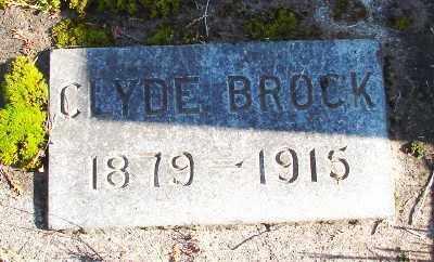 BROCK, CLYDE - Marion County, Oregon | CLYDE BROCK - Oregon Gravestone Photos