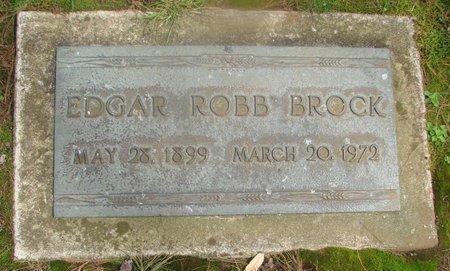 BROCK, EDGAR ROBB - Marion County, Oregon | EDGAR ROBB BROCK - Oregon Gravestone Photos