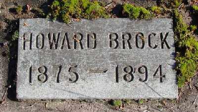 BROCK, HOWARD - Marion County, Oregon | HOWARD BROCK - Oregon Gravestone Photos