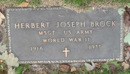BROCK, HERBERT JOSEPH - Marion County, Oregon   HERBERT JOSEPH BROCK - Oregon Gravestone Photos