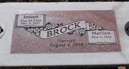 BROCK, JOSEPH A - Marion County, Oregon | JOSEPH A BROCK - Oregon Gravestone Photos
