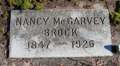 BROCK, NANCY - Marion County, Oregon   NANCY BROCK - Oregon Gravestone Photos