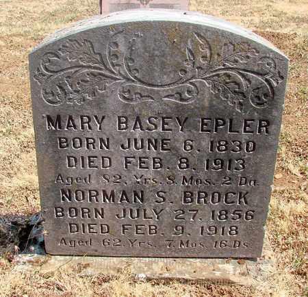 BASEY BROCK, MARY - Marion County, Oregon | MARY BASEY BROCK - Oregon Gravestone Photos