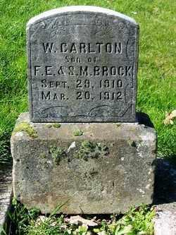 BROCK, W CARLTON - Marion County, Oregon | W CARLTON BROCK - Oregon Gravestone Photos