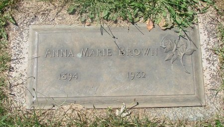 BROWN, ANNA MARIE - Marion County, Oregon | ANNA MARIE BROWN - Oregon Gravestone Photos