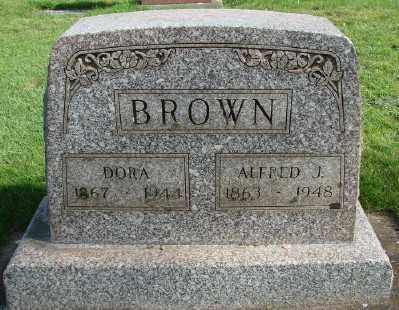 BROWN, ALFRED J - Marion County, Oregon | ALFRED J BROWN - Oregon Gravestone Photos