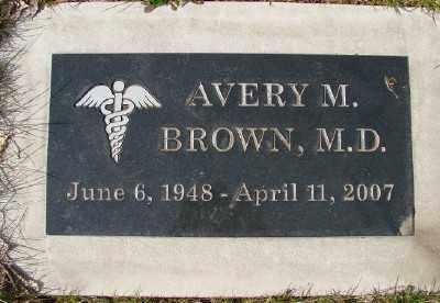 BROWN, AVERY M - Marion County, Oregon | AVERY M BROWN - Oregon Gravestone Photos