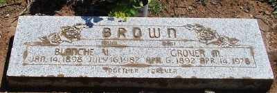 BROWN, GROVER MARION - Marion County, Oregon | GROVER MARION BROWN - Oregon Gravestone Photos