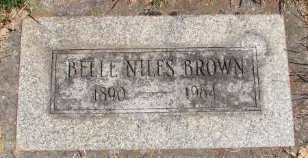 BROWN, BELLE FARWELL - Marion County, Oregon | BELLE FARWELL BROWN - Oregon Gravestone Photos