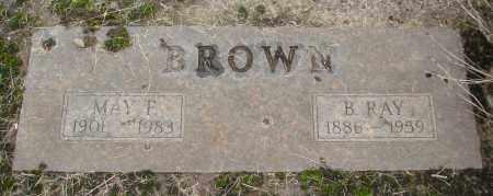 BROWN, MAY FRANCIS - Marion County, Oregon | MAY FRANCIS BROWN - Oregon Gravestone Photos