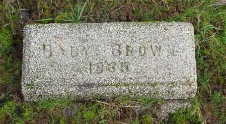 BROWN, BABY - Marion County, Oregon | BABY BROWN - Oregon Gravestone Photos