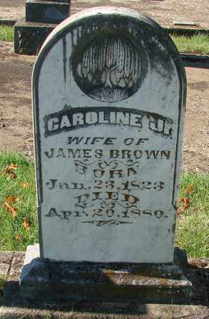 BROWN, CAROLINE J - Marion County, Oregon | CAROLINE J BROWN - Oregon Gravestone Photos