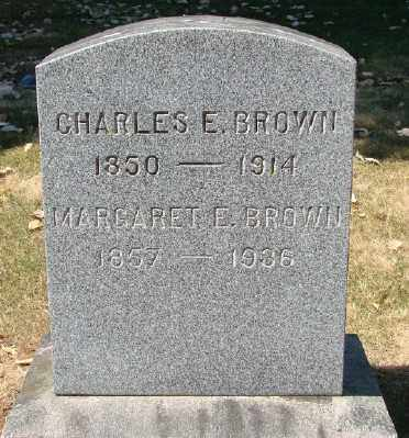 BROWN, CHARLES E - Marion County, Oregon | CHARLES E BROWN - Oregon Gravestone Photos
