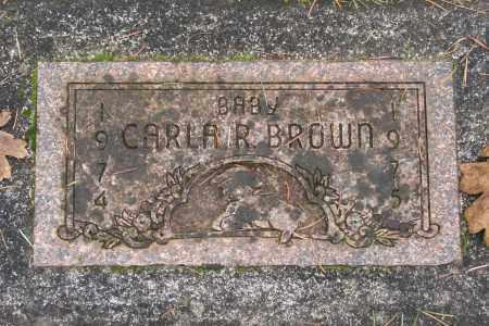 BROWN, CARLA R - Marion County, Oregon | CARLA R BROWN - Oregon Gravestone Photos