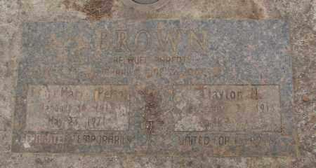 BROWN, E MARIA - Marion County, Oregon   E MARIA BROWN - Oregon Gravestone Photos