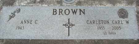 BROWN, CARLETON W - Marion County, Oregon | CARLETON W BROWN - Oregon Gravestone Photos