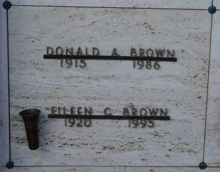 BROWN, EILEEN G - Marion County, Oregon | EILEEN G BROWN - Oregon Gravestone Photos