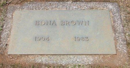 BROWN, EDNA - Marion County, Oregon | EDNA BROWN - Oregon Gravestone Photos