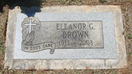 BROWN, ELEANOR G - Marion County, Oregon | ELEANOR G BROWN - Oregon Gravestone Photos