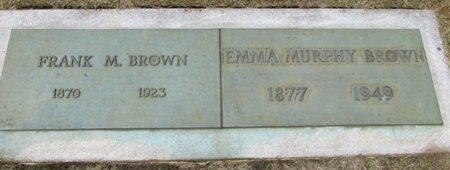 BROWN, FRANK M - Marion County, Oregon | FRANK M BROWN - Oregon Gravestone Photos