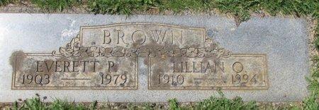 BROWN, EVERETT P - Marion County, Oregon | EVERETT P BROWN - Oregon Gravestone Photos