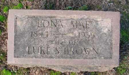 BROWN, EDNA MAE - Marion County, Oregon | EDNA MAE BROWN - Oregon Gravestone Photos