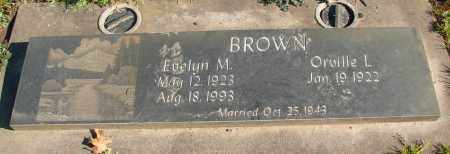 BROWN, EVELYN MAY - Marion County, Oregon | EVELYN MAY BROWN - Oregon Gravestone Photos