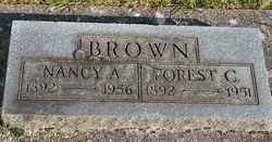 BROWN, FOREST CLINTON - Marion County, Oregon | FOREST CLINTON BROWN - Oregon Gravestone Photos