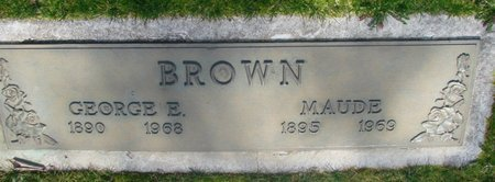 BROWN, GEORGE EVERETT - Marion County, Oregon | GEORGE EVERETT BROWN - Oregon Gravestone Photos