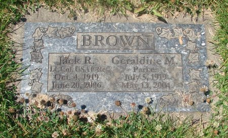BROWN, GERALDINE M - Marion County, Oregon | GERALDINE M BROWN - Oregon Gravestone Photos