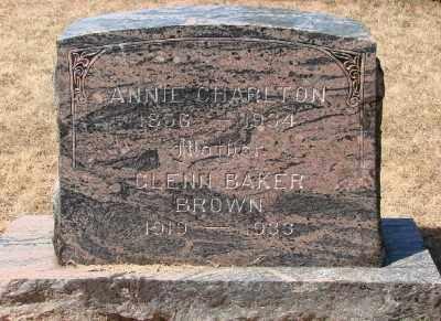 BROWN, GLENN BAKER - Marion County, Oregon | GLENN BAKER BROWN - Oregon Gravestone Photos