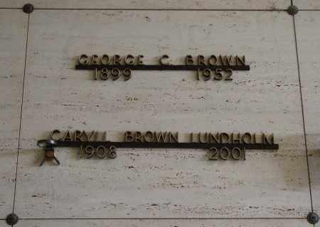 BROWN, CARYLL - Marion County, Oregon | CARYLL BROWN - Oregon Gravestone Photos