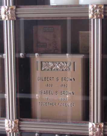 BROWN, GILBERT SYDNEY - Marion County, Oregon | GILBERT SYDNEY BROWN - Oregon Gravestone Photos