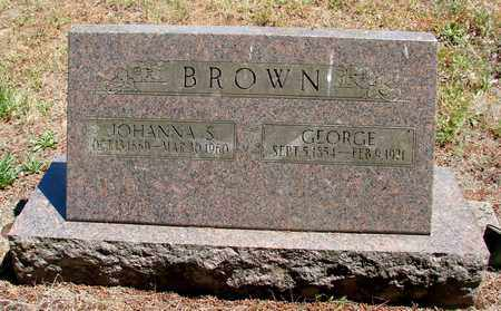 BROWN, GEORGE - Marion County, Oregon | GEORGE BROWN - Oregon Gravestone Photos