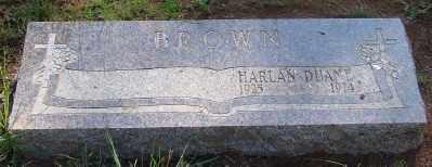 BROWN, HARLAN DUANE - Marion County, Oregon   HARLAN DUANE BROWN - Oregon Gravestone Photos