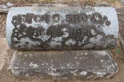 BROWN, HUGH D - Marion County, Oregon | HUGH D BROWN - Oregon Gravestone Photos