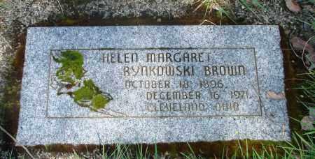 BROWN, HELEN MARGARET - Marion County, Oregon | HELEN MARGARET BROWN - Oregon Gravestone Photos