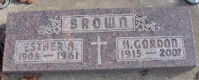 BROWN, HUGH GORDON - Marion County, Oregon | HUGH GORDON BROWN - Oregon Gravestone Photos