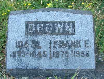BROWN, IDA MAY - Marion County, Oregon | IDA MAY BROWN - Oregon Gravestone Photos