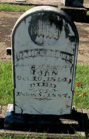 BROWN, JAMES - Marion County, Oregon | JAMES BROWN - Oregon Gravestone Photos