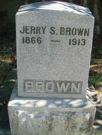 BROWN, JERRY S - Marion County, Oregon | JERRY S BROWN - Oregon Gravestone Photos